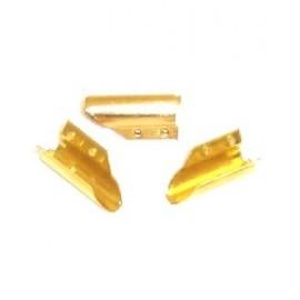 Brass clips raclette - set...