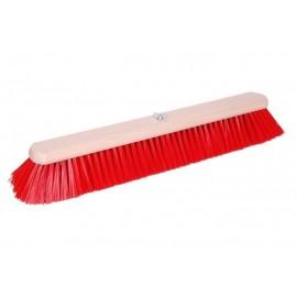 Balai nylon rouge avec vis...